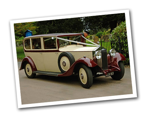 1933 Rolls Royce wedding car