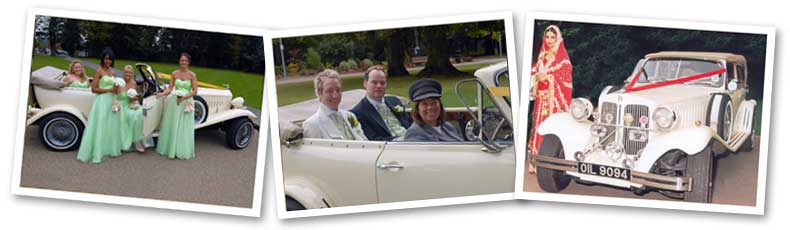 Beauford wedding car photos