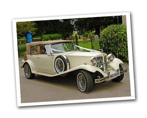 Beauford Convertible wedding car